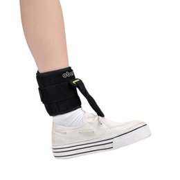 Wholesale Health Care Braces Supports Adjustable Drop Foot Support AFO AFOs Brace Strap Elevator Poliomyelitis Hemiplegia Sroke Universal Size