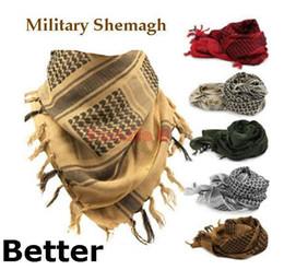 Wholesale Military Shemagh Scarf Tactical Desert Arab Keffiyeh scarf arabic Cotton pc