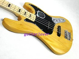 Wholesale Retail Famous Brand new arrival JB Electric Bass Guitar Vintage natural Chian guitar factory