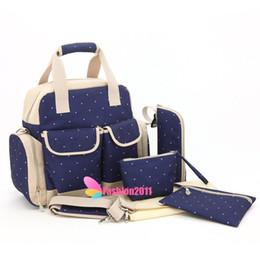 New 2016 Multifunction Diaper Tote Bags Baby Nappy Bag Larger Capacity Mummy Handbag Backpack Free Shipping 010237