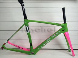 Wholesale Road Bcycles de rosa carbon bike frame complete carbon fiber framework fork seatpost clamp headset with BB68 BB30 TIME F8 is available