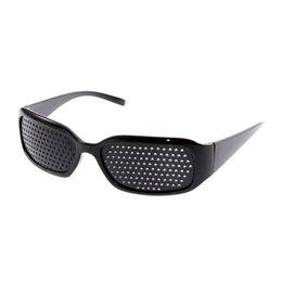 Wholesale Vision Spectacles Eyesight Improve Pinhole Pin Hole Eyes Training Exercise Glasses Eyewear Vision Adjustment Beach Chairs
