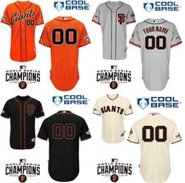 Factory Outlet Custom baseball jerseys San Francisco Giants mlb Personalized Cool Base Personalized Cheap Embroidery Baseball Jerseys