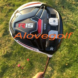 Wholesale 2015 New golf driver top quality R15 driver cc face or degree with speeder stiff shaft golf clubs