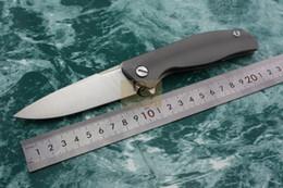 Wholesale Kevin John F95 Tactical ball bearings Flipper folding S35vn knife Titanium handle camping hunting Knives EDC tools