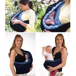 Wholesale Infant Birth Sling Baby Carrier Stretchy Wrap Adjustable Backpack Breastfeeding