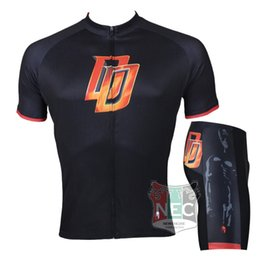 041 DD Daredevils Unique Men Short Sleeve Cycling Kit Bike outlet ciclo Jersey + Shorts Plus Size maillot Gel pad Geniune Paladin
