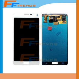 Original LCD Touch Screen & Digitizer Assembly for Samsung Galaxy Note 4 N910 N910T N910P N910R4 N910V N910A N910E N910H Free Ship