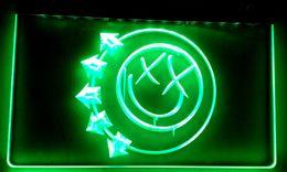 LS008 Blink 182 Punk Music Pub Bar Neon Light Signs