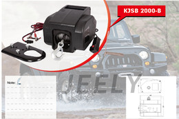 Wholesale Yacht Winch Boat winch Barge winch V lb ELECTRIC WINCH
