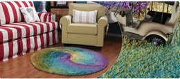 Wholesale Top Selling Soft Comfortable Bed Room Round Area Rugs Sitting Room Carpet Mats Protect Floor Pad Matting Rest Covers
