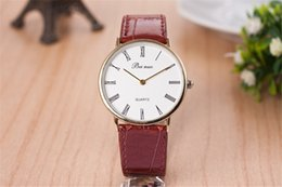 Roman typeface strap watch hit South Korea fashion Men and women with the watch factory direct sale