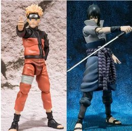 SHF Figuarts Anime NARUTO Action figure Uzumaki Naruto Uchiha Sasuke Model Naruto Dolls Toys For Children 14.5cm