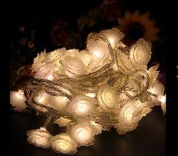 10M 100 LED lights flash lamp set seven ball lamp lanterns waterproof outdoor Christmas lights flower rose
