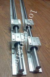 Wholesale 2X SBR12 mm supported linear rails sets SBR Rails SBR blocks