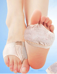 Wholesale-Footful Pair Foot Thong Toe Undies, Dance Paws, Half Lyrical Shoe Forefoot Cover Sock H1274