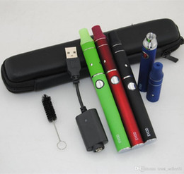 Métal cas ecig en Ligne-Dry stylos Vape herb Vaproizer cigarettes électroniques ego kits de démarrage Evod de batterie Evod Mini il y a g5 herbes vapeur atomiseur kit étui à fermeture éclair