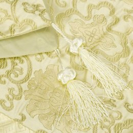 Wholesale CSS x Inch Brocade Table Runner Antique Gold