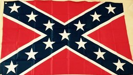 Confederate Battle Flags Printed Confederate Rebel Civil War Flag National Polyester Flags 6X4FT Free Shipping by DHL