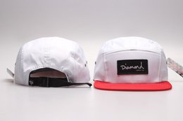 Wholesale 2016 white red New Diamonds Cap Panel Diamond Supply Co Snapbacks Baseball Caps for Women snap back Hip Hop hats Freeshipping YP