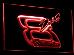 a109 NASCAR #8 DALE EARNHARDT Bar Beer LED Neon Light Sign Wholeseller Dropship Free Shipping 7 colors to choose