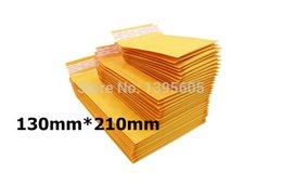 Wholesale-50 pieces a lot, 21cm*13cm mailing bag, kraft paper bubble mailer, bubble envelope, poly mailer, padded envelopes,kraft