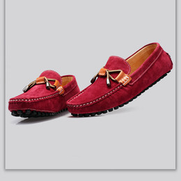 Los zapatos hechos a mano de los zapatos ocasionales de los nuevos hombres 2016 italianos calzan las suelas de goma, estilo del diseñador de cuero desde hombres zapatos nuevos estilos proveedores