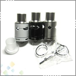 Wholesale Newest Turbo V3 RDA Wheel Wind RDA DIY Rebuildable Dripping Atomizer Adjustable Airflow fit E Cig Silver Black Colors DHL Free