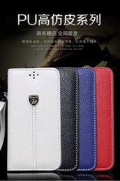 Wholesale New style high end commercial leather imitation Flip Stand Wallet Leather Case With Photo Frame Phone Cover for iphone6 s iphone plus