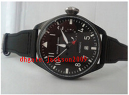 Wholesale Factory Supplier Luxury Watches Sapphire Power Reserve Big Pilot Day Day Black Automatic Men s Watch Watches