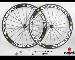 Wholesale 700C Clincher wheels mm Wider Carbon Wheels mm Clincher Straight Pull Road Cycling Wheelset with Novatec Hubs