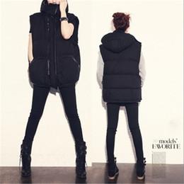 Wholesale Women Winter Jacket Coat Cotton Thicken Cotton Warm Sleeveless Jean Best Selling Waistcoat Jacket Vests Outwear Coats