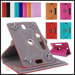 Wholesale MID Universal inch Tablet Case for Samsung tab A E S2 Rotating leather cover Flip Card Buckle