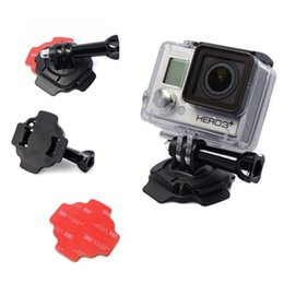 GoPro Accessories Kit 360 Degree Rotating Helmet Mount 3M Adhesive Sticker for Gopro Hero 4 3+ XIaomi Yi SJCAM SJ4000 SJ5000