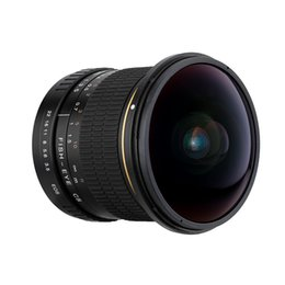 Wholesale Kelda mm f deg Ultra Wide Fisheye Lens Aspherical Circular Camera Lens for Canon EOS DSLR Cameras Full Frame Compatible D3068