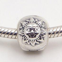 100% 925 Sterling Silver Magic Sky Clip Charm Bead Fits European Pandora Jewelry Bracelets Necklaces & Pendants