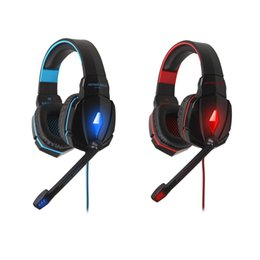 Wholesale High Quality EACH G4000 Stereo Gaming Headset Noise Canceling Headphones with Mic Headband Volume Control for PC Games V765