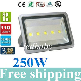 Wholesale 250W LM Led Floodlights Waterproof Outdoor Led Canopy Lights Gas Station Lighting Led Flood Lights AC V Warranty Years