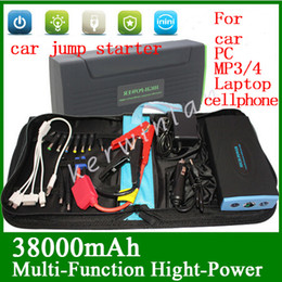 Multi-Function Mini Portable Car Jump Starter 38000mAh Start 12V Petrol&Diesel car Engine Emergency Battery Power Bank Fast Charge