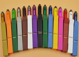 Torsion ii à vendre-Spin II 15 couleurs de Vision 1650 Cigarettes électroniques mah Twist Ego 3.3V-4.8V Vision Spin 2 Ecigs Pour E cigarette Vape Pen