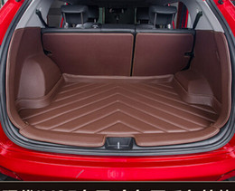 Wholesale Best quality Special car trunk mats for Hyundai Tucson Easy to clean waterproof luggage carpets for Hyundai Tucson