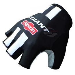 FREE SHIPPING 2015 GIANT ALPECIN PRO TEAM BLACK Cycling Bike Gloves Bicycle Gel Half Finger Glove