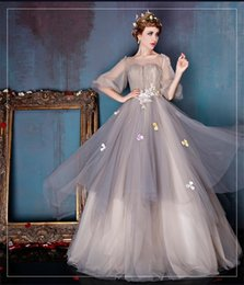 Wholesale Debutante Quinceanera Dresses prom ball gowns sweet ball gowns advanced custom flower evening wear celebrity red carpet dresses