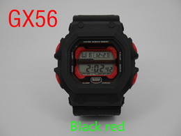 1pcs top relogio Gx56 men's sports watches, LED chronograph wristwatch, military watch, digital watch, good gift for men & boy, dropship