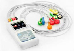 Wholesale ECG EKG holter TLC5000 Dynamic ECG System Channel h ANALYZER RECORDER CD