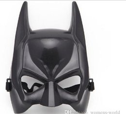 Wholesale dhl free send Batman Masks Halloween Cosplay Costume Movie Themes Half Face Mask the dark knight rise