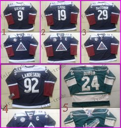 Wholesale Colorado Avalanche Matt Duchene joe sakic Ice Winter Jersey Cheap Hockey Jerseys Authentic Stitched Size