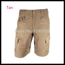 Wholesale-Tan Color Mens Force 10 Cargo Shorts Breathable Quick Drying Short Pants Cycling Hunting