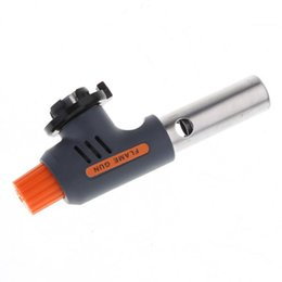 Hot Selling Automatic Portable High and Low Welding Gas Torch Flame Gun Electronic Ignition Lighter for BBQ and Baking