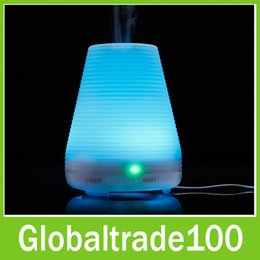 Wholesale Essential Oil Aroma Diffuser With Color LED Ultrasonic Cool Mist Home Humidifier ml Aromatherapy Waterless Auto Shut off US EU UK Plug